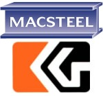 Macsteel and Cape Gate logos - Senwes Village From Greens to Dreams